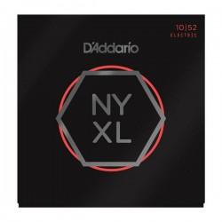 D'Addario NYXL1052 Nickel Wound Electric Strings .010-.052 Light Top Heavy Bottom