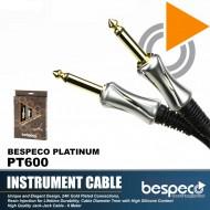 Bespeco PT600 Platinum Series Guitar Cable 6M
