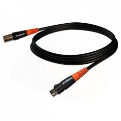 Bespeco SLFM900 Cannon XLR Male to Female XLR Cable (Black or Orange, 9 M)