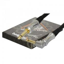 Bespeco PT600P Platinum Series Instrument Cable 6m Jack L