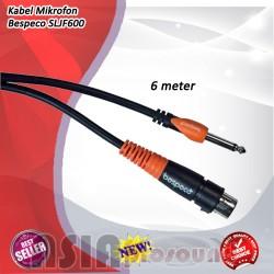 Bespeco SLJF600 Kabel Microphone 6 meter