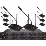 Audiocore WCM-6480U Wireless (8 Mic UHF PLL Up to 512 Mic)
