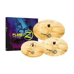 Zildjian Planet Z PLZ4PK 4 pcs Cymbal Set