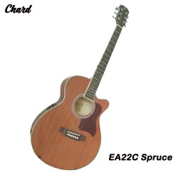 Chard EA22C Spruce Acoustic Electric Guitar