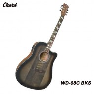 Chard WD-68C BKS Acoustic Electric Guitar