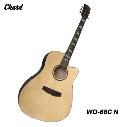 Chard WD-68C N Acoustic Electric Guitar