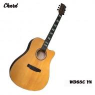 Chard WD-68C YN Acoustic Electric Guitar