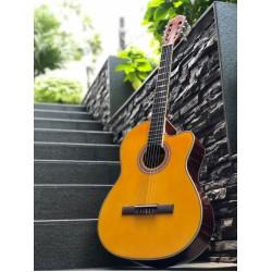 Chard EC3940C YN Classical Acoustic Electric Guitar