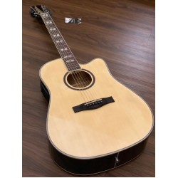 CHARD ED29 BK ACOUSTIC ELECTRIC IN NATURAL WITH FISHMAN PRESYS PLUS PREAMP