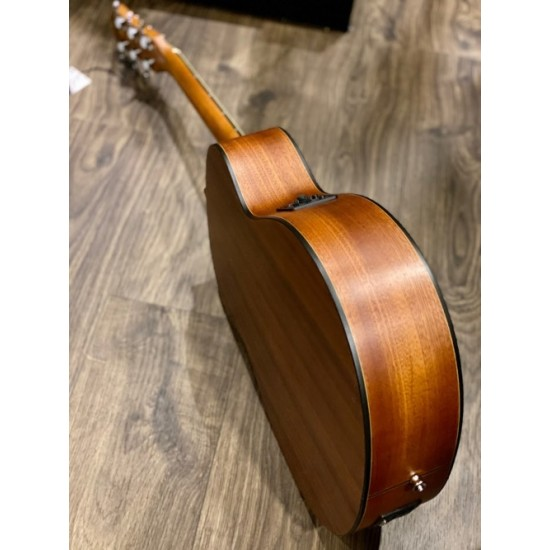 CHARD GS1 ACOUSTIC ELECTRIC IN NATURAL MAHOGANY WITH FISHMAN ISYS PREAMP