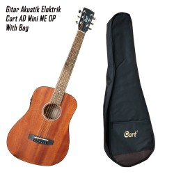Cort AD Mini ME OP Acoustic Electric Guitar With Bag