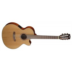 Cort CEC5 NAT Accoustic Electric Guitar Nylon - String