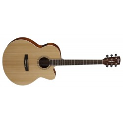 Cort CJ1F NS Acoustic Electric Guitar