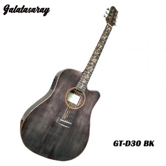 Galatasaray GT-D30 BK Acoustic Electric Guitar