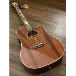 GALATASARAY GT QD1C FLX FULL SOLID MAHOGANY IN NATURAL WITH FISHMAN FLEX PREAMP