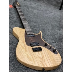 SOLOKING S408 IN NATURAL WITH ONE PIECE ROSEWOOD NECK AND AMERICAN ASH BODY