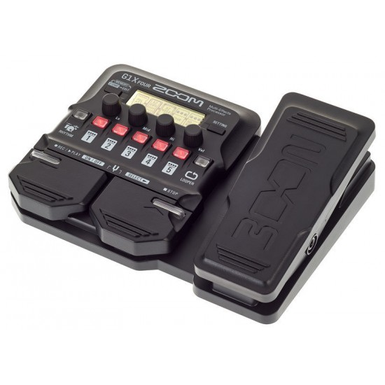 Zoom G1X FOUR Multi-effects Processor with Expression Pedal