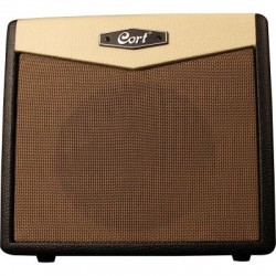 Cort CM15R-BK Guitar Amplifier 8 inch 15 Watt with Reverb