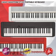 Casio Casiotone CT-S1 Portable Keyboard Red Black and White