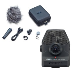 Zoom Q2N with Accessories APQ2N Handy Video Recorder